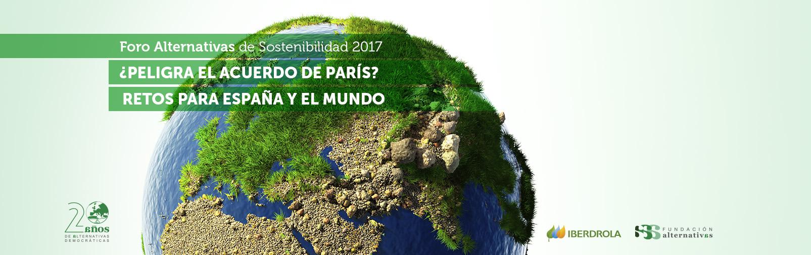 España y el Acuerdo de París de Cambio Climático