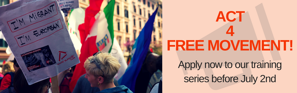 Call for applications: Act4FreeMovement training series