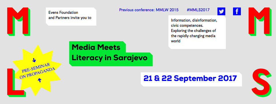 Media Meets Literacy 2017 in Sarajevo