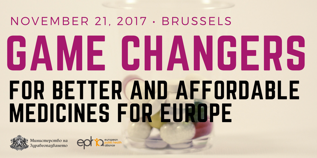 Game changers for better and affordable medicines for Europe