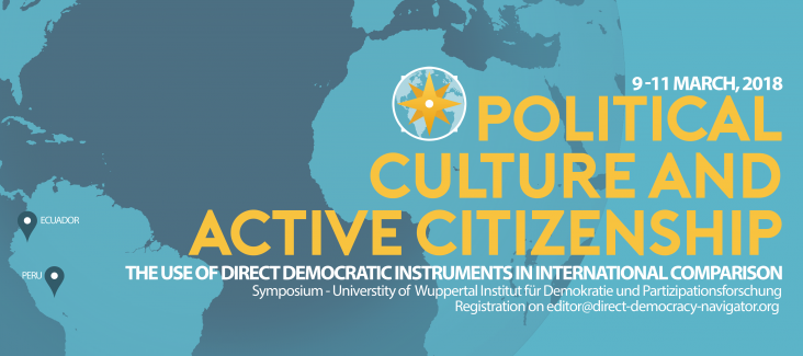 Political culture and active citizenship
