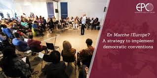 En Marche l'Europe? – A strategy to implement democratic conventions