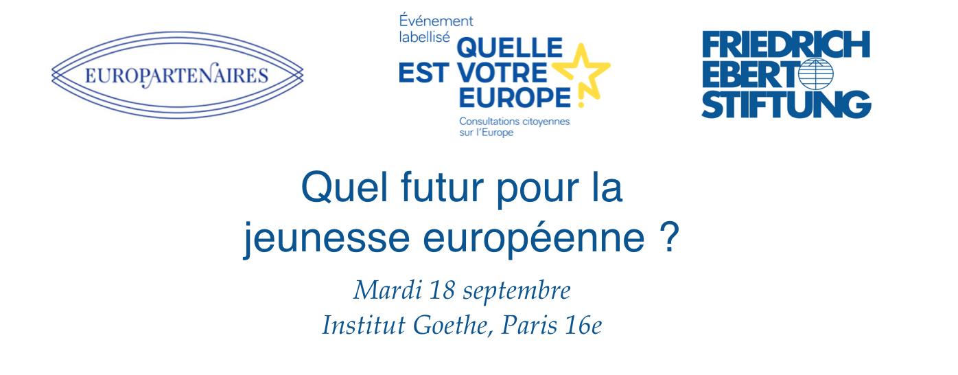 Quel futur pour la jeunesse européenne?