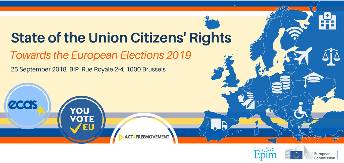 State of the Union Citizens Rights: Towards the #EUElections 2019!