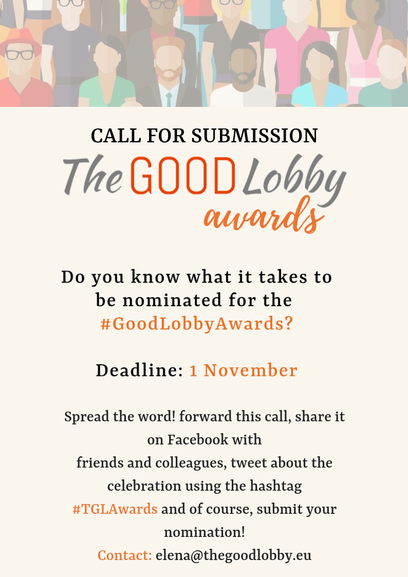 The Good Lobby Awards