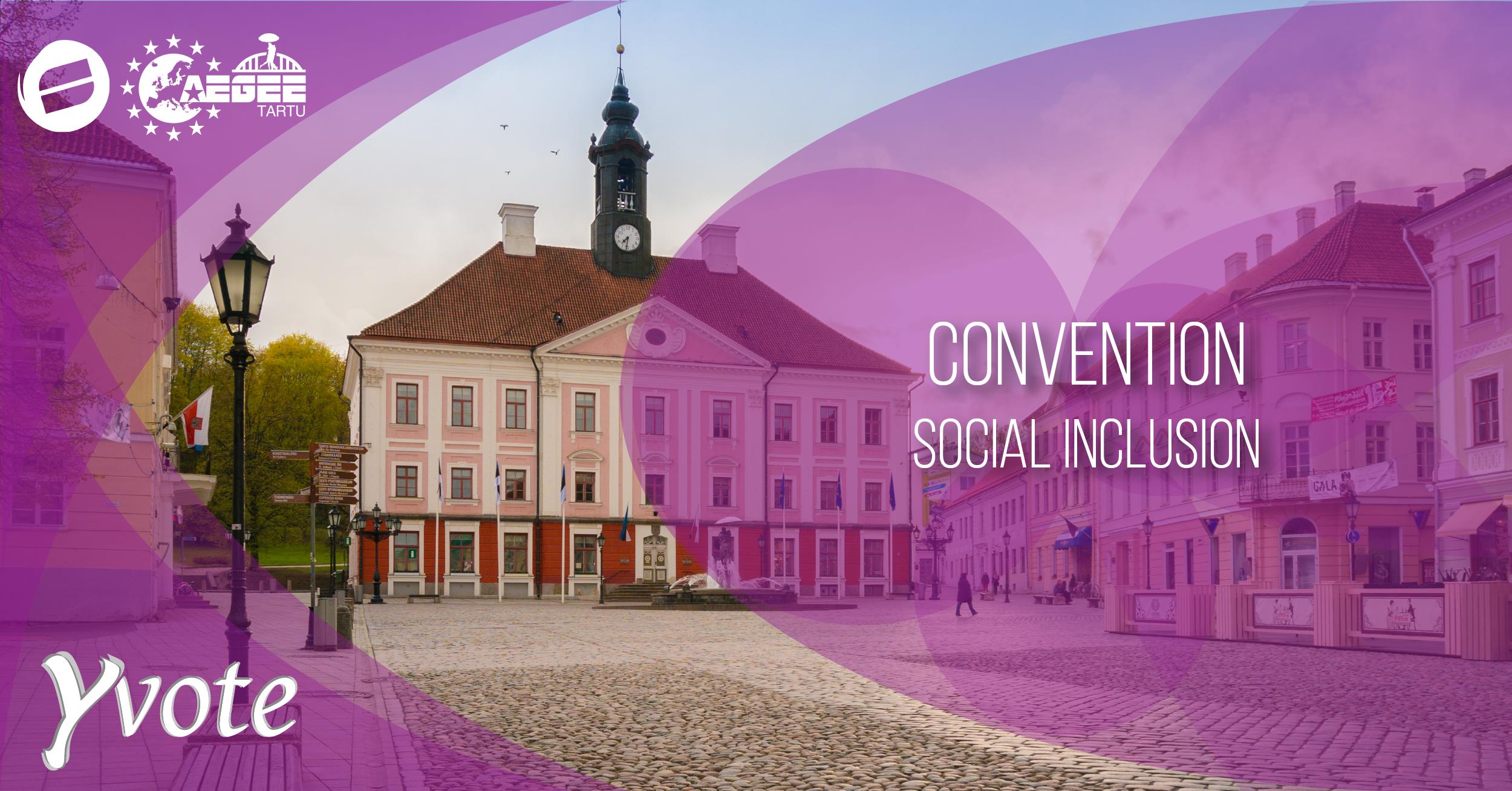 Y Vote Convention on Social Inclusion