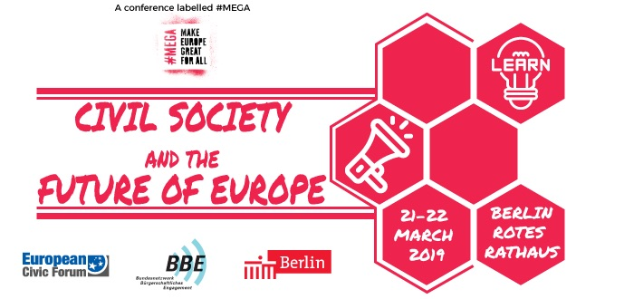 #MEGA – Civil Society Conference on the Future of Europe