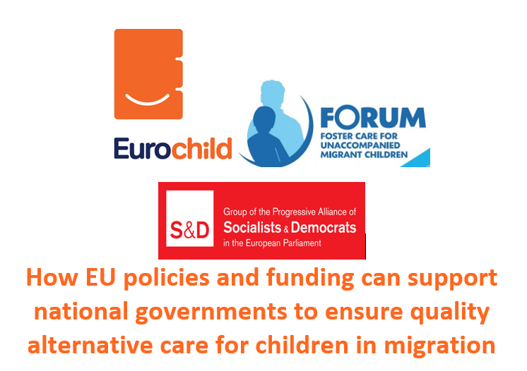 How EU policies and funding can support national governments to ensure quality alternative care for children in migration