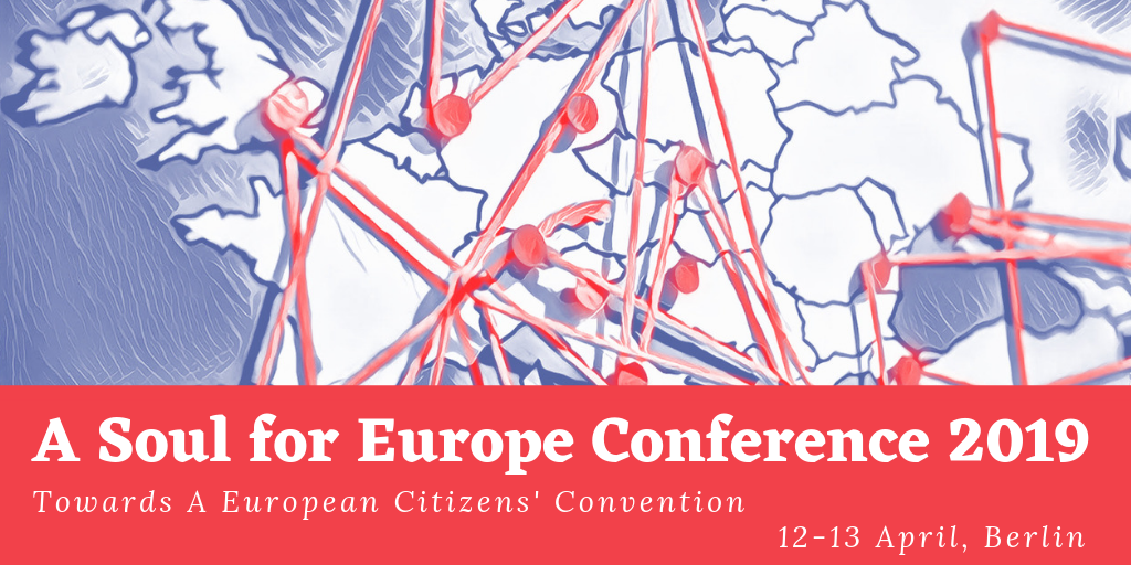 A Soul for Europe Conference 2019