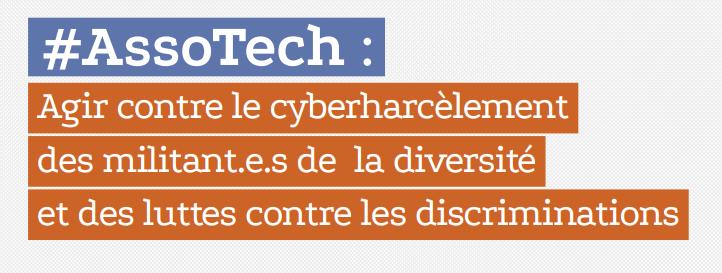 Agir contre le cyberharcèlement  des militant.e.s de la diversité  et des luttes contre les discriminations