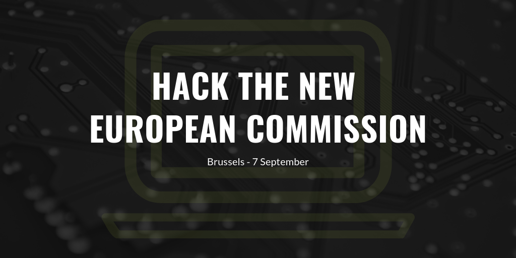 Hack the new EU Commission