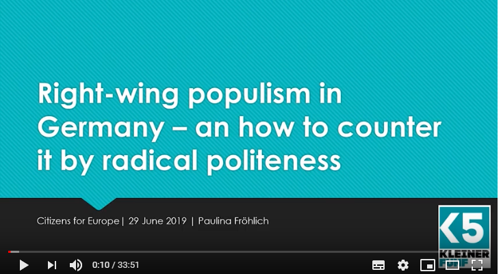 [Podcast] How to counter right-wing populism with Radical Politeness