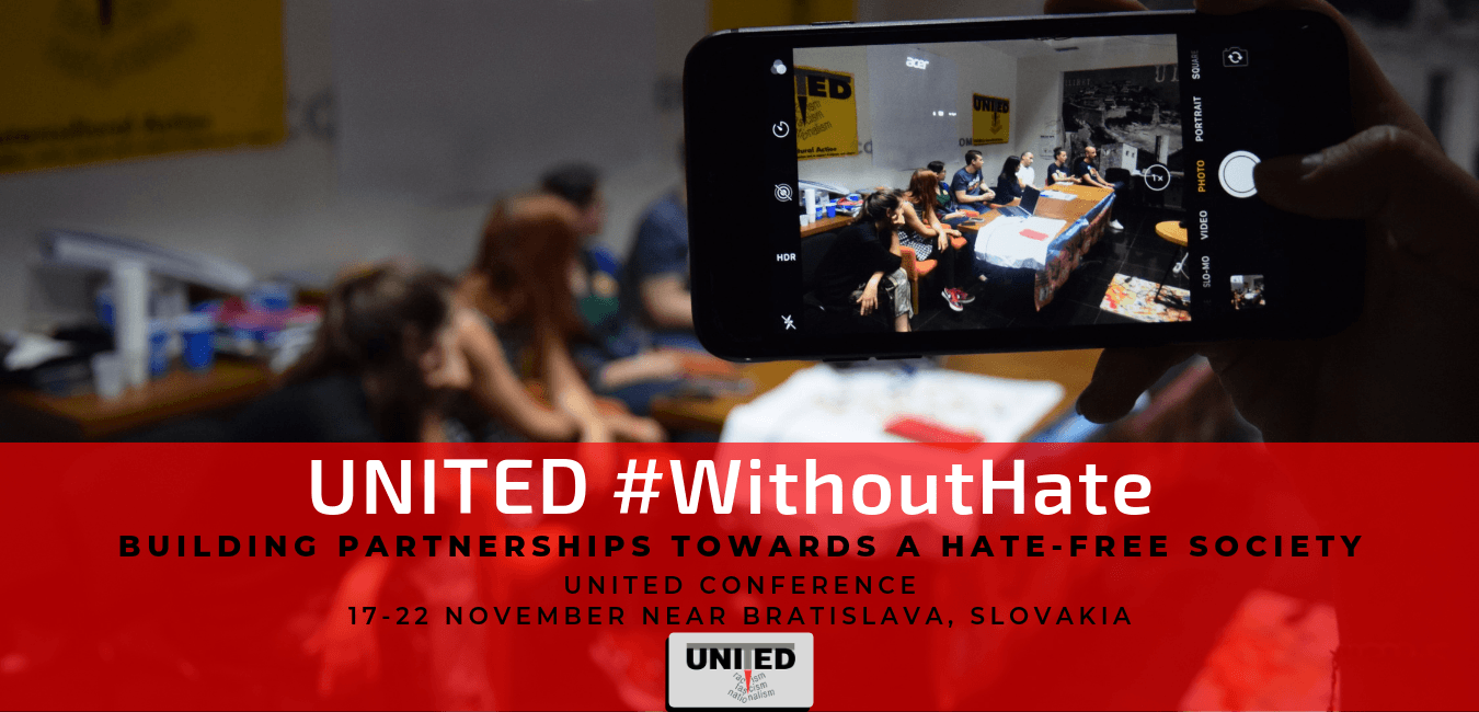 UNITED #WithoutHate: Building Partnerships towards a Hate-free society