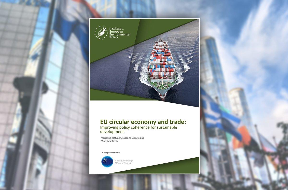 EU Circular Economy and Trade Report