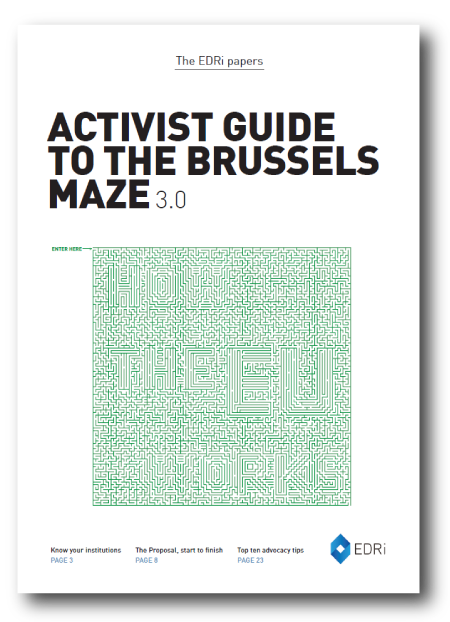 Activist guide to the Brussels Maze 3.0