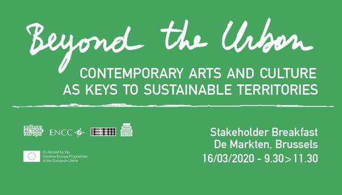 Beyond the urban – Contemporary arts and culture as keys to sustainable territories