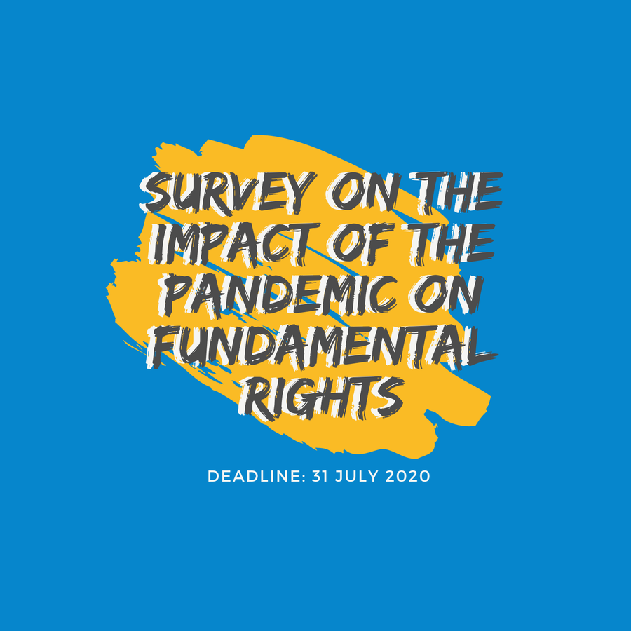 Survey on the impact of the pandemic on fundamental rights