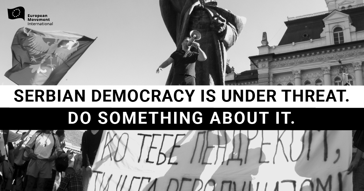 [Petition] Serbian democracy is under threat – The EU must act
