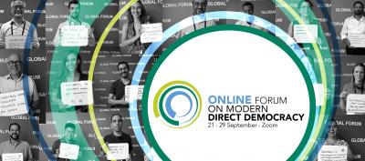 Online Forum on Modern Direct Democracy