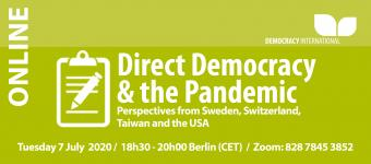 Direct Democracy & the Pandemic