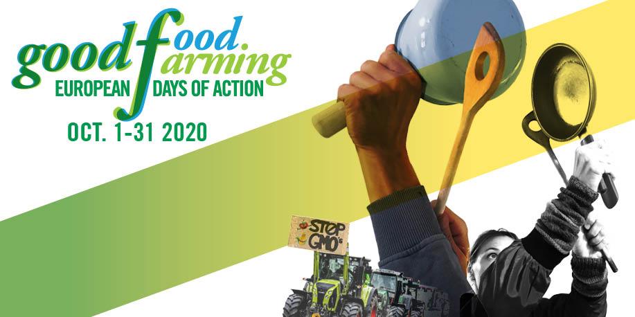 Good Food Good Farming action days October 2020