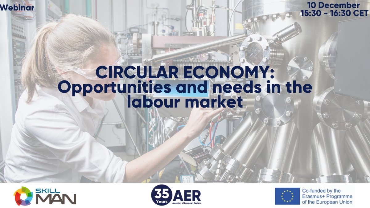[Webinar] Circular Economy: Opportunities and Needs in the Labour Market