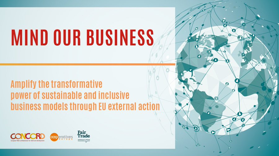 [Report] Mind Our Business: Amplify the transformative power of sustainable and inclusive business models through EU external action