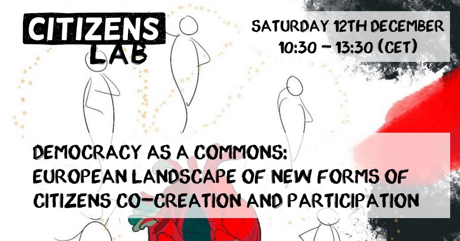 [Online] Democracy as a commons: European landscape of new forms of citizens' co-creation and participation