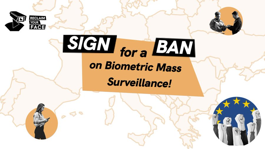 [ECI] Reclaim your face: Ban biometric mass surveillance