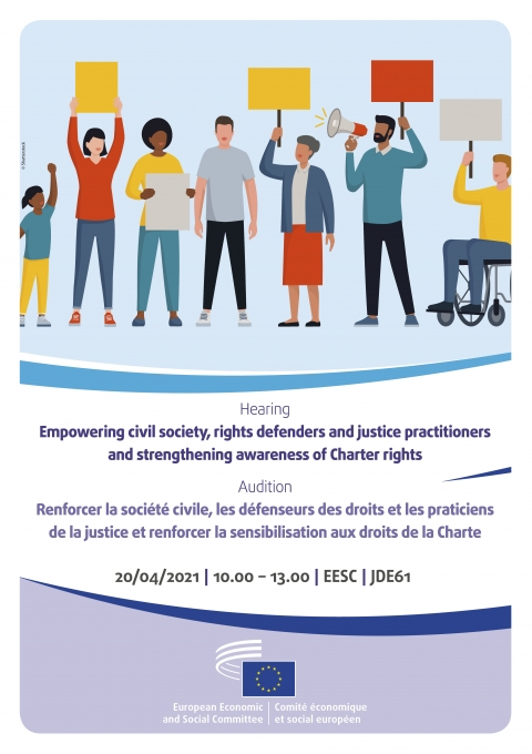 [Online] Empowering civil society, rights defenders and justice practitioners and strengthening awareness of Charter rights