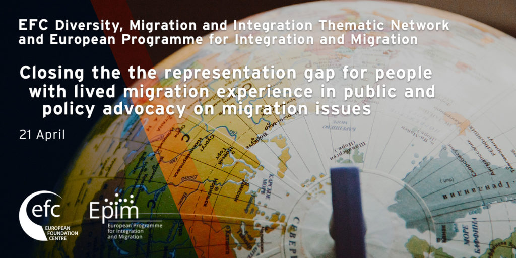 [Online] Closing the representation gap for people with lived migration experience in public and policy advocacy on migration issues