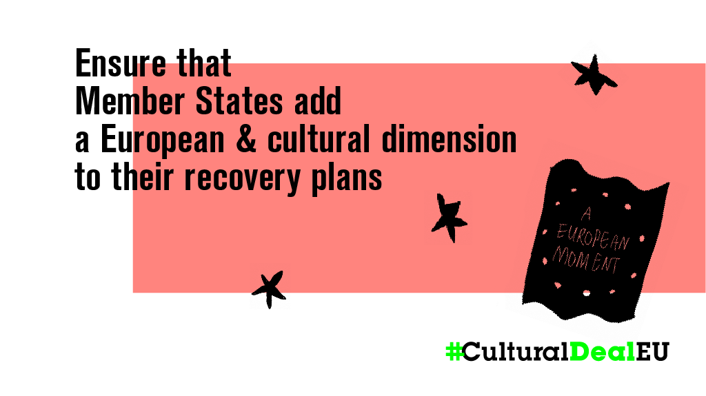 [Open Letter] Secure a future for cultural life in Europe