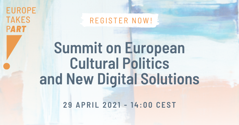 Summit on European Cultural Politics and New Digital Solutions