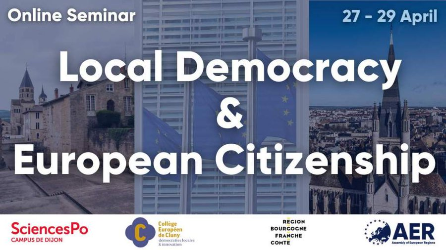 [Online Seminar] Local democracy & European citizenship