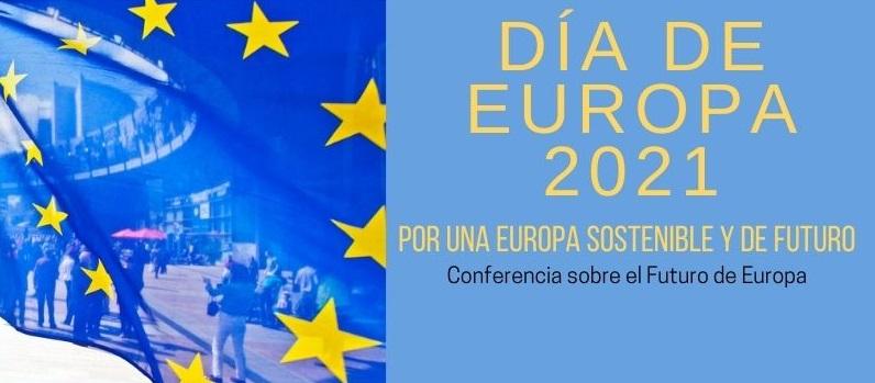 [Online] Día de Europa 2021. Por una Europa Sostenible y de Futuro