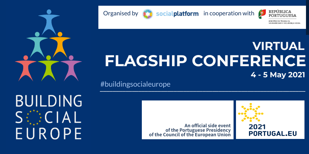 Building social Europe – Virtual flagship conference