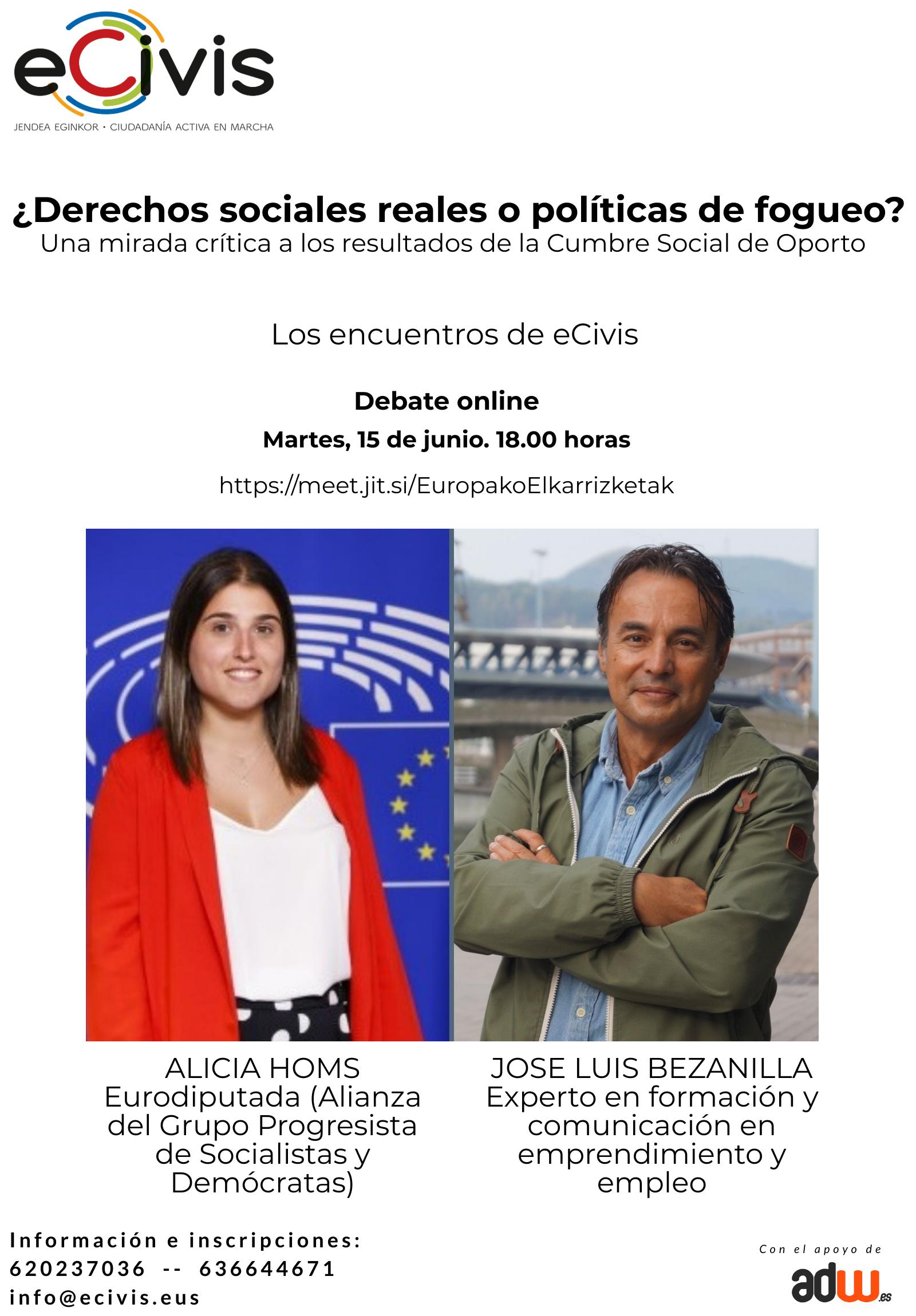 ¿Derechos Sociales o políticas de fogueo? Una mirada crítica a los resultados de la Cumbre Social de Oporto