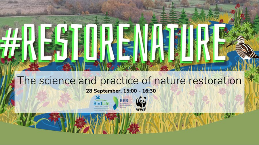 [Online] #RestoreNature: The science and practice of Nature Restoration