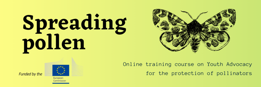 [Online Training Course]  Spreading Pollen: Youth Advocacy for the Protection of Pollinators