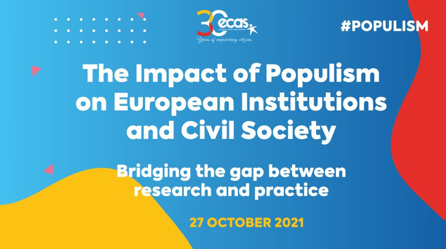 [Online] The Impact of Populism on European Institutions and Civil Society