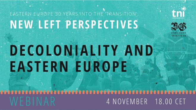 [Webinar] Decoloniality and Eastern Europe